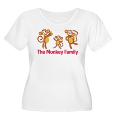 Monkey Family T-Shirt
