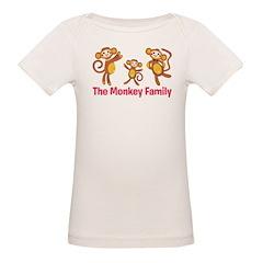 Monkey Family Tee