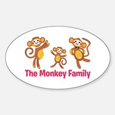 Monkey Family Decal