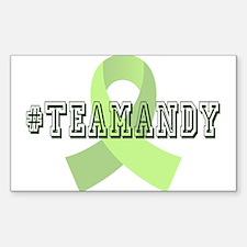 #teamandy Decal