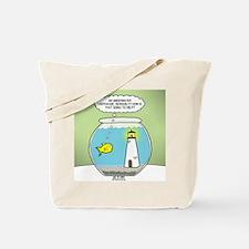 OTL Fishbowl Lighthouse Tote Bag