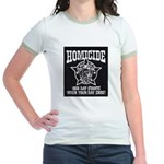 Chicago PD Homicide Jr. Ringer T-Shirt