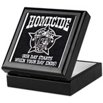 Chicago PD Homicide Keepsake Box