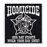 Chicago PD Homicide Tile Coaster