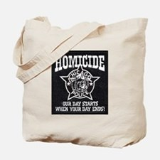 Chicago PD Homicide Tote Bag