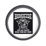 Chicago PD Homicide Wall Clock