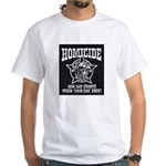 Chicago PD Homicide White T-Shirt