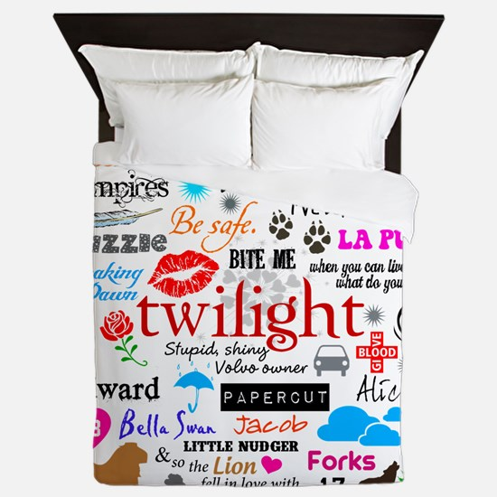 Twilight Memories Queen Duvet