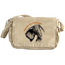 giant schnauzer Messenger Bag