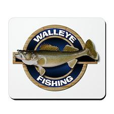 Walleye Fishing Mousepad