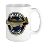 Walleye Fishing Large Mug