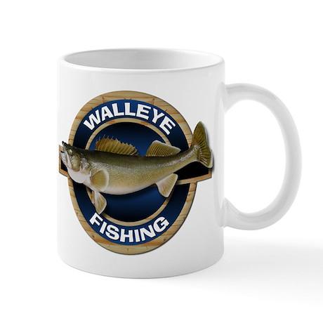 Walleye Fishing Mug