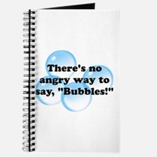 Angry Bubbles Journal