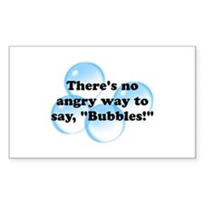 Angry Bubbles Decal