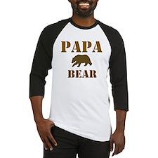 Papa Mama Baby Bear Baseball Jersey