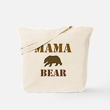 Papa Mama Baby Bear Tote Bag