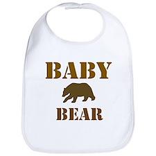 Papa Mama Baby Bear Bib