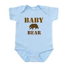 Papa Mama Baby Bear Onesie