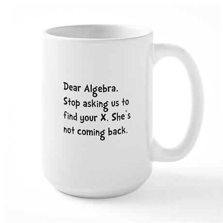 Dear Algebra Large Mug