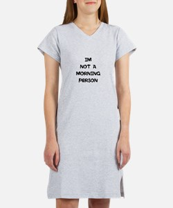 Cute Cupsthermosreviewcomplete Women's Nightshirt