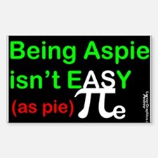 Easy AS PIe Decal