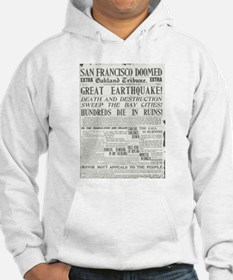 Oakland Tribune 1906 SF Earthquake Hoodie