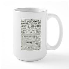 Oakland Tribune 1906 SF Earthquake Mug