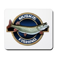 Muskie Fishing Mousepad