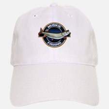 Muskie Fishing Baseball Baseball Cap