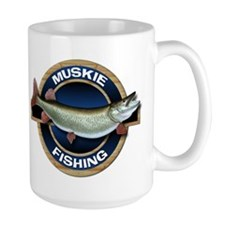 Large Muskie Fishing Mug