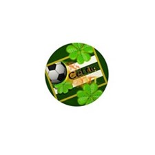 Celtic Football Irish Mini Button