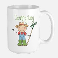Country Boy Farmer Mug