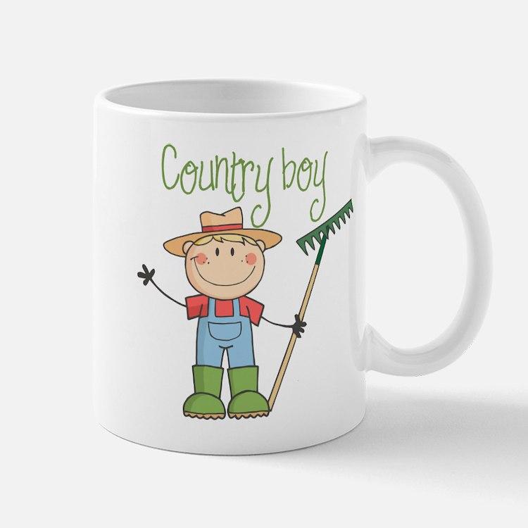 Country Boy Farmer Mug