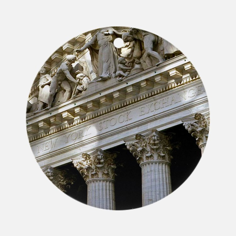 New York Stock Exchange Ornament (Round)