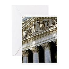 New York Stock Exchange Greeting Card