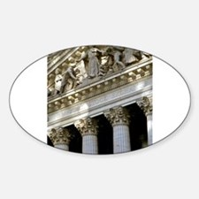New York Stock Exchange Sticker (Oval)
