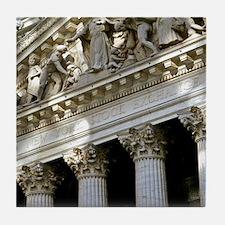 New York Stock Exchange Tile Coaster