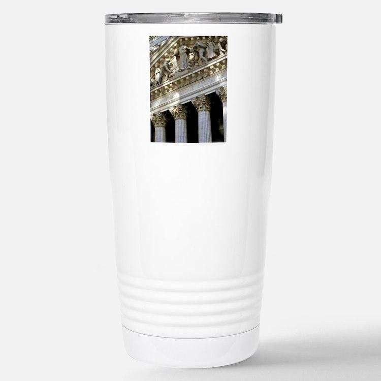 New York Stock Exchange Stainless Steel Travel Mug