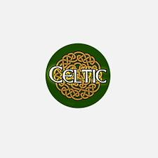 Celtic Knot Irish Mini Button