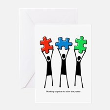 Solving the Puzzle Greeting Card