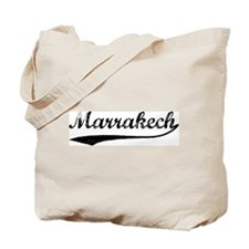 Vintage Marrakech Tote Bag
