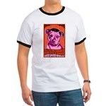 2-sided Give PITS a Chance! Ringer T-shirt