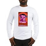 Give PITS a Chance! 2-sided Long Sleeve T