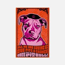 PIT BULL -Give PITS a Chance! Magnet