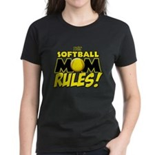 This Softball Mom Rules Tee