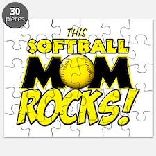 This Softball Mom Rocks Puzzle