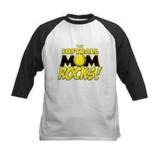 This Softball Mom Rocks Tee