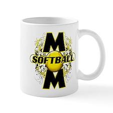 Softball Mom (cross) Mug