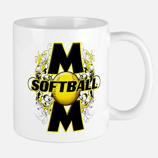 Softball Mom (cross) Mug