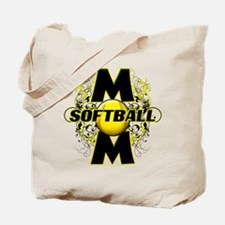 Softball Mom (cross) Tote Bag
